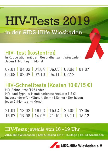 HIV-Tests 2019